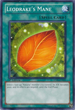Yugioh Card Leodrake's Mane - STBL-EN053 - Common 1st Edition