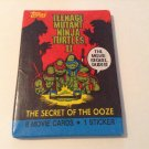 Teenage Mutant Ninja Turtles TMNT The Secret of the Ooze Movie Trading Card Booster Pack