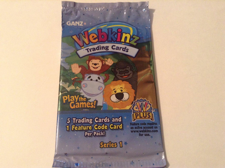 Webkinz Ganz Trading Card Booster Pack