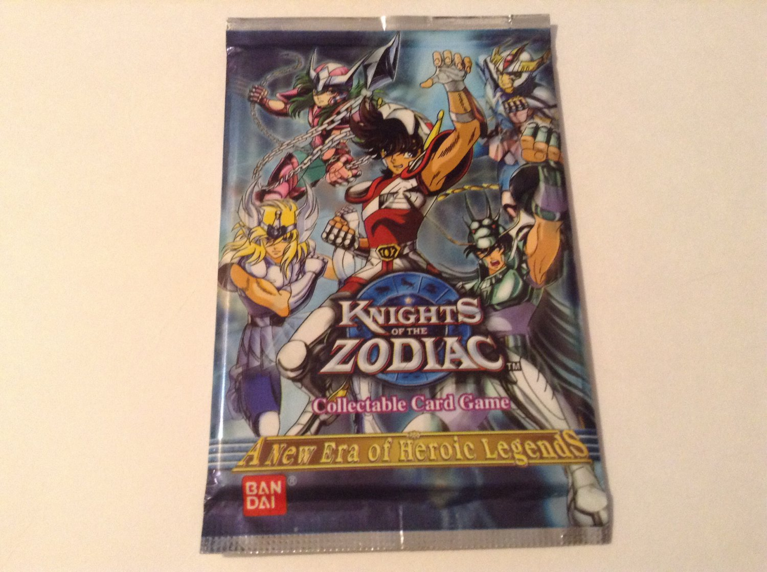Knights of the Zodiac CCG A New Era of Heroic Legends Card Booster Pack