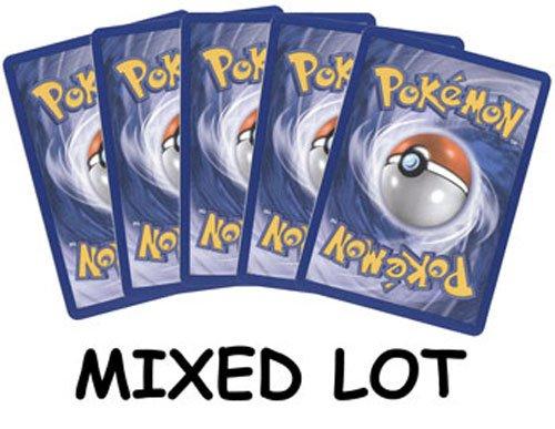 Huge Lot of 100 Pokemon Card Common, Uncommon Rare Cards
