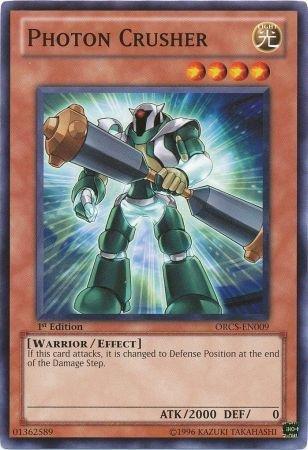 Yugioh Card Photon Crusher - ORCS-EN009 - Common 1st Edition