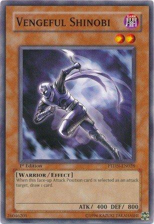 Yugioh Card Vengeful Shinobi - PTDN-EN028 - Common Unlimited Edition
