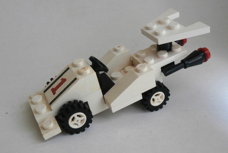 Lego Classic Town 6604-1 Formula-I Racer 1985
