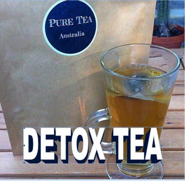 7 DAY DETOX - PURE TEA AUSTRALIA - TEATOX - SKINNY - WEIGHT LOSS TEA BAG - COLON CLEANSE - FAT LOSS