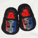 Transformer Baby Booties, (3-6 mo), Optimus Prime - Hand Painted
