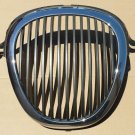 00 01 02 03 JAGUAR S TYPE GRILLE CHROME FRONT BUMPER RADIATOR GRILL OEM