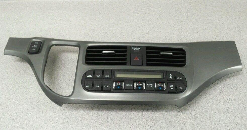 05-07 Honda Odyssey Digital Tri Zone AC Heat Climate Control IRK271-R OEM 105R