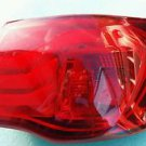 11 12 13 KIA FORTE R PASSENGER TAIL LIGHT HATCHBACK QUARTER PANEL MOUNTED