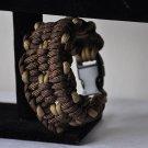 "Walnut ""Ohlone"" Paracord Bracelet"