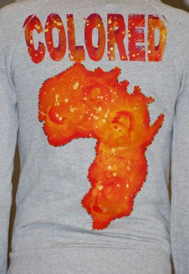 Colored/Africa Hoodie