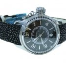 HAMILTON NAVY SEAQUEEN STEEL BLACK DIAMONDS LADIES WATCH SWISS