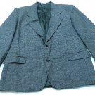 EMANUEL UNGARO PARIS MENS TWEED GREY SUIT JACKET BLAZER SIZE 44R PRE-OWNED