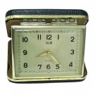 Vintage Elgin Travel Alarm Clock Mechanical Japan