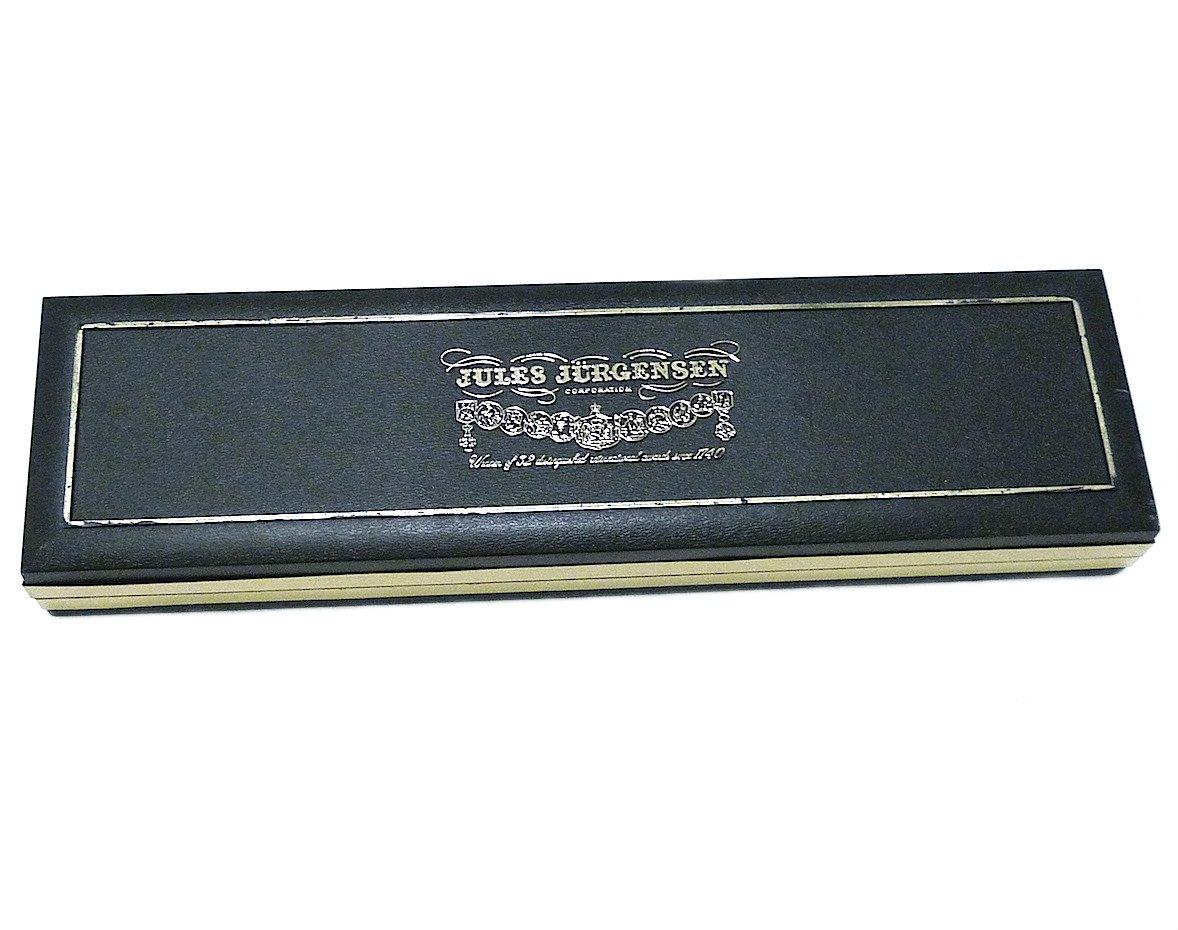 Vintage Jules Jurgensen Long Watch Box Collectible Rare