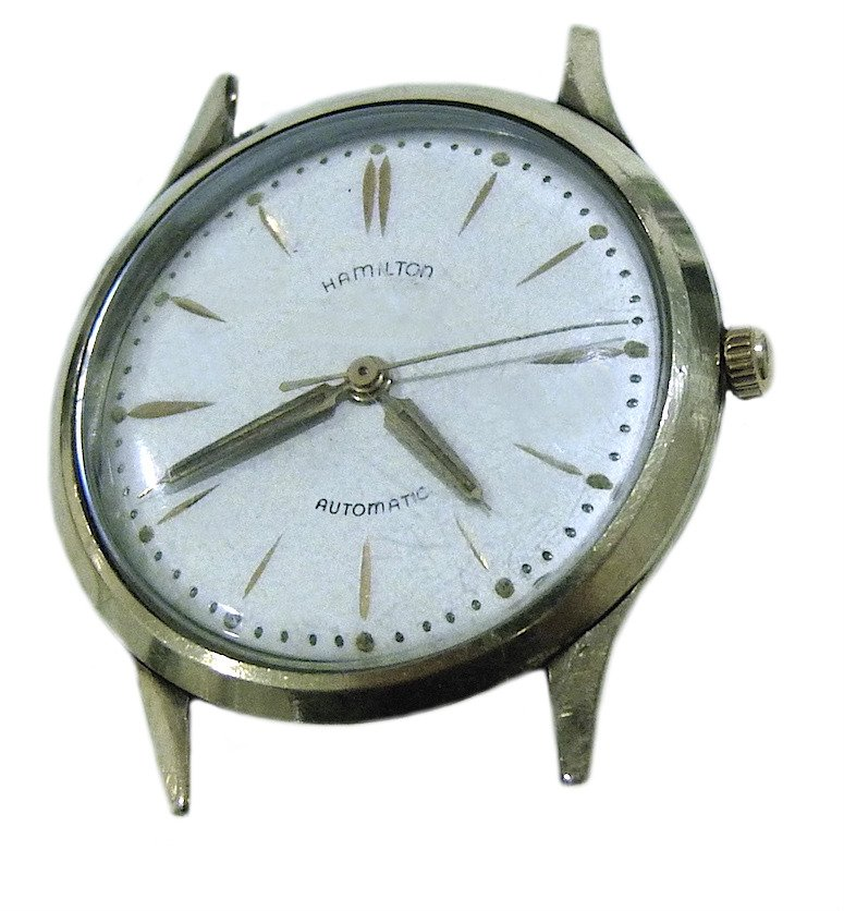 Vintage Hamilton 10K Gold Filled Automatic 666 Micro Rotor Mens Watch Swiss Rare