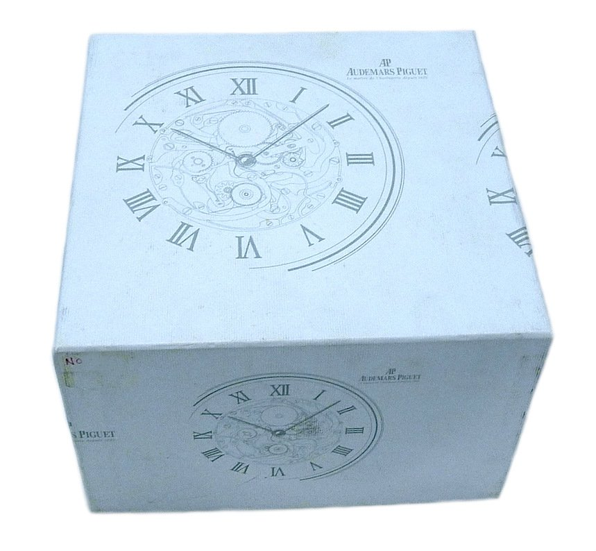 Audemars Piguet Outer Watch Box White