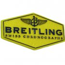Breitling Watch Yellow Plastic Hang Tag Authentic