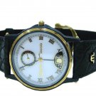 Maurice Lacroix Classic 05840 Moonphase Black Case Mens Watch