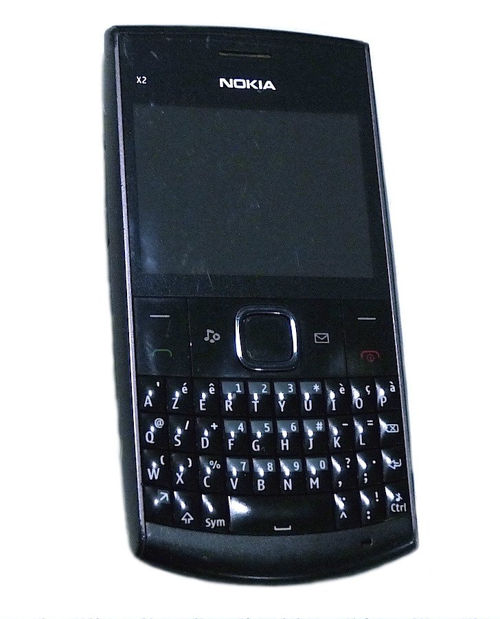 NOKIA X2-01 QWERTY BLACK GSM MOBILE PHONE UNLOCKED PRE-OWNED