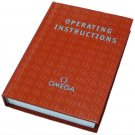 Omega Operating Instructions Hardcover Booklet