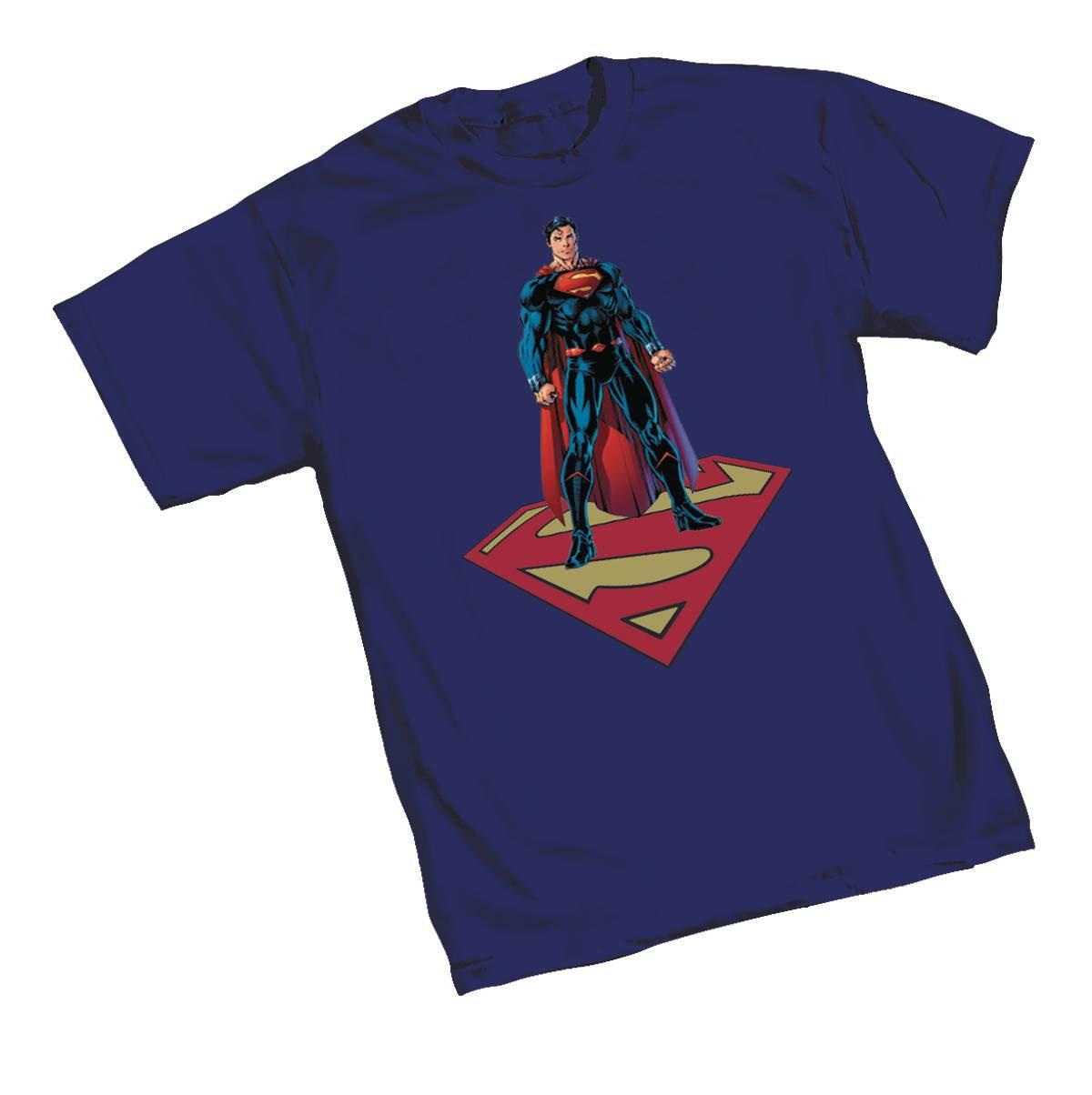 SUPERMAN REBIRTH BY LEE T/S LG (C: 1-1-0)