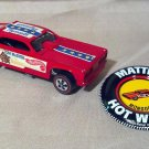 Hot Wheels 1970 Vintage Tom McEwen Mongoose Car, Red Enamel, With Metal Button