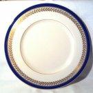 """Vintage Lenox Orleans Cobalt Blue 8-1/4"""" Salad Plate"""