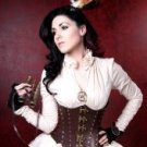 Hard Brown Leather Corset