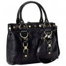 Gigi Chantal™ Black Shoulder Bag - DPRSKA30