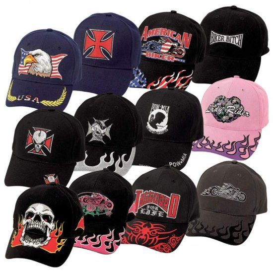 Diamond Plate� 12pc Ball Cap Set with Embroidered Logos - GFHAT12