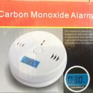 Carbon Monoxide LCD Alarm Poisoning Smoke Gas Sensor Warning CO Detector Kitchen
