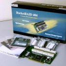 NEW HighPoint RocketRAID 404 - IDE 4-Channel ATA133 RAID Controller w/ Cables!