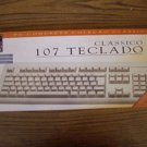Portugese Brazilian Classic 104 Series Keyboard PS/2 Brazil Portugal PS2 Teclado