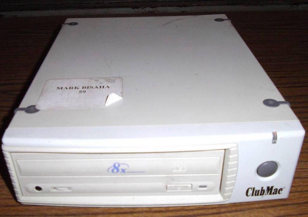 CLUB MAC - TEAC 8X 24X 8X24X CD RECORDABLE CDR WRITER EXTERNAL SCSI DRIVE 50W