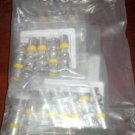 25 PACK FC F-CONN RG59 RG-59 BNC MULTI FIT FS59BNCUV AV CABLE CONNECTOR CCTV