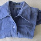 FACONNABLE JEANS Women's Button Up Dress Casual Top M Medium Very Nice