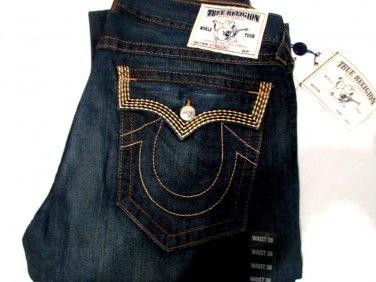 NWT True Religion Mens Jeans 38 USA 100% Authentic