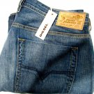 Zatiny Diesel Jeans Boot Cut Blue Men New Size 38x30