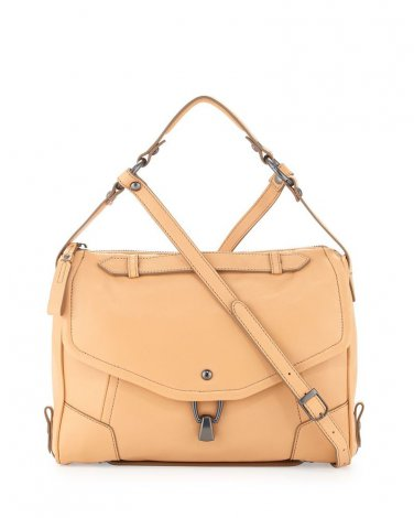 Kooba Alexa Leather Crossbody Bag, Camel