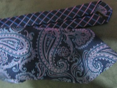 CALABRUM  LONDON  100%  SILK TIE WOW