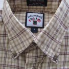 FACONNABLE Men's Button Up Dress Casual Shirt Small S MINT VERY NICE