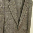 Vintage Raleighs 100% CAMEL HAIR Black and Brown Blazer