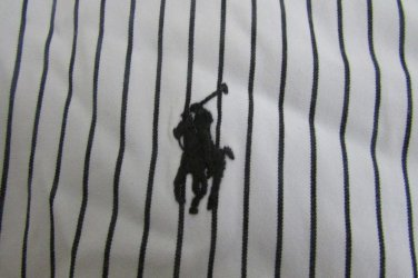 POLO RALPH LAUREN CLASSIC FIT Multi-Color Striped Dress Casual Shirt 17.5 34/35