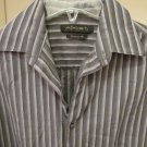 Armani Exchange Men's Long Sleeve Button Down Dress Shirt Modern Fit Small S