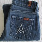 7 Seven for All Mankind Size 25 A Pocket Jeans