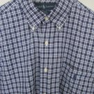 Polo Ralph Lauren Blake Mens Superfine Cotton Button Down Dress Shirt L Large