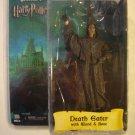 "HARRY POTTER DEATH EATER Goblet of Fire 7"" figure NECA REEL TOYS SERIES 1 hood"