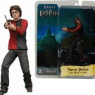 """HARRY POTTER Goblet of Fire 7"""" figure with wand and base NECA REEL TOYS SERIES 1"""