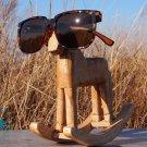 WOOD SUNGLASSES - ECO FRIENDLY FASHION AVIATOR EYEWEAR (Tortoise)